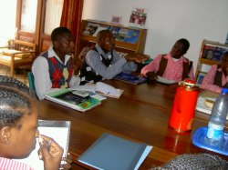 workshop students